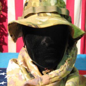 Berretto Camouflage SBB Men's Jungle Hat Multicam SBB Multicam 100% Cotone Jungle Hat Bonnie Con fascia porta utilities intorno alla calotta