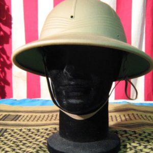 Cappello Coloniale Beige Tessuto: 65% Poliestere 35% Cotone Colore: Kaki Casco Coloniale Interno con fascetta regolabile
