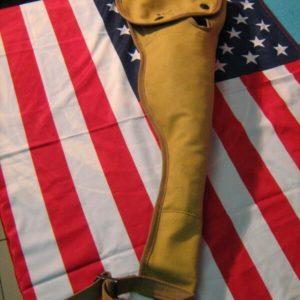 Custodia Per Fucile U.S. Beige/Tan US PARATROPER CARBINE M1A1 WEAPON CASE REPRO U.S. Sems 1943 Portafucile Cotone 100% Tan Chiusura a due bottoni automatici