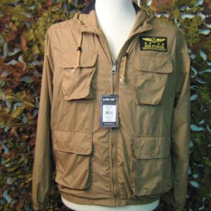 Giacca aviazione Mil-Tec COYOTE AIR FORCE JACKET GIUBBINO LEGGERO CON CAPPUCCIO AIR FORCE Coyote Tan