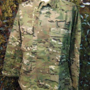 Camicia Camouflage Tru Spec BDU Tru Spec Camicia BDU Mulicam 60% Cotone 40% Polyestere Collo a camicia Tasche due altezza petto sovrapposte
