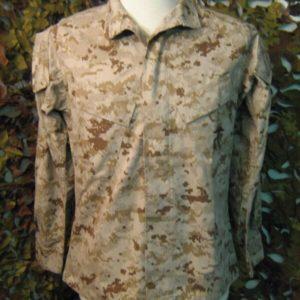 Camicia Camouflage American Apparel Inc. Camicia 2006 Desert Marpat 50% Cotone 50% Nylon Collo a camicia