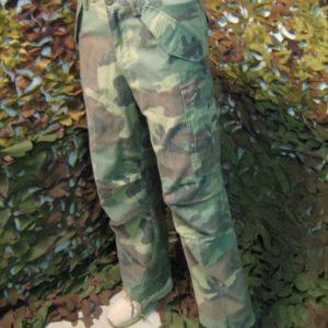 Pantaloni Lunghi Camouflage Teesar Inc. Lavati Teesar Inc. M65 50% Cotone Moleskin 50% Nylon Stone Washed Woodland