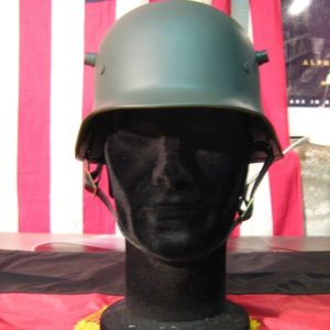 Emetto Tedesco M16 WWI (Repro) Sturm German M16 Helmet Media 57/58 100% Acciaio Interno in pelle con fibbie e cinturino per chiusura sottogola.