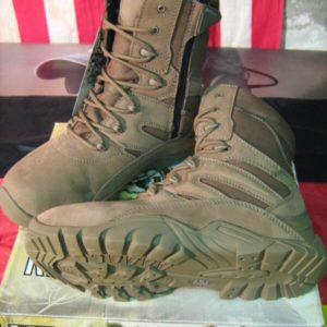 Anfibi Recon Boots Coyote 101 Inc. One-O-One-Incorporated Realizzato in pelle Nubuck. Suola resistente all'olio e antiscivolo. YKK cerniera