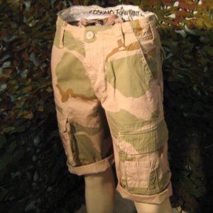 Bermuda Uomo Kosumo Desert 3 Macchie Pantalone corto KOSUMO stone washed Kosumo Cloating Company Cargo 100%. Cotone.