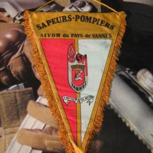 Gagliardetto Sapeurs Pompiers Sivom du Pays de Vannes