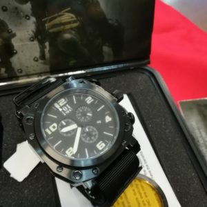 101 Inc. Special Ops Watch orologio water resistant stainless steel